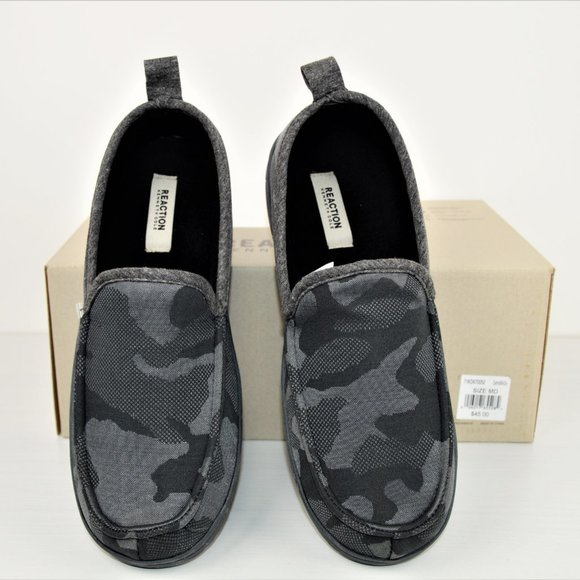 Kenneth Cole Reaction Other - NWT Kenneth Cole Grey Camo Loafer Slip-on Shoes